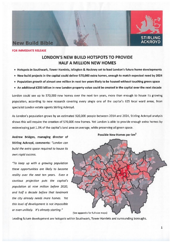 Chaucer Ward - new build hotspot. Download available.