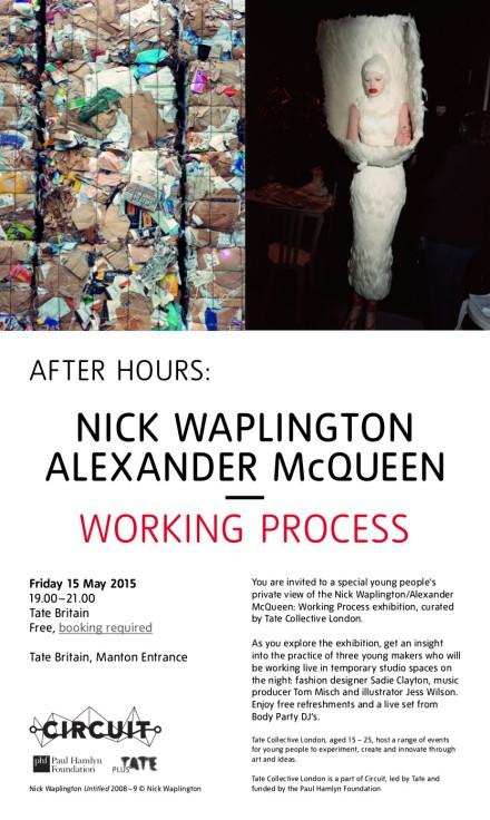 INVITE After Hours-Waplington McQueen