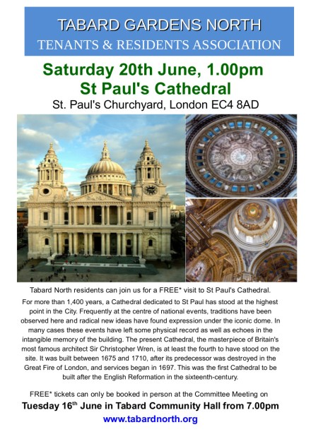St Pauls 20th June 2015
