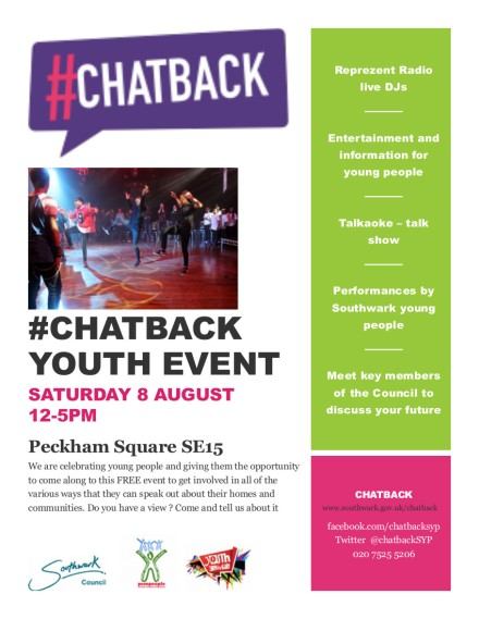 Chatback poster