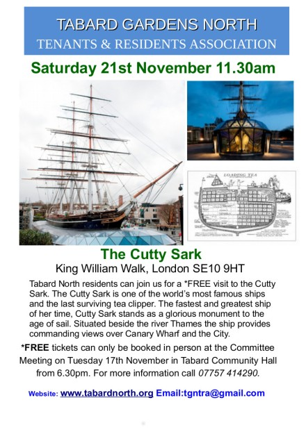 Cutty Sark 21st November 2015