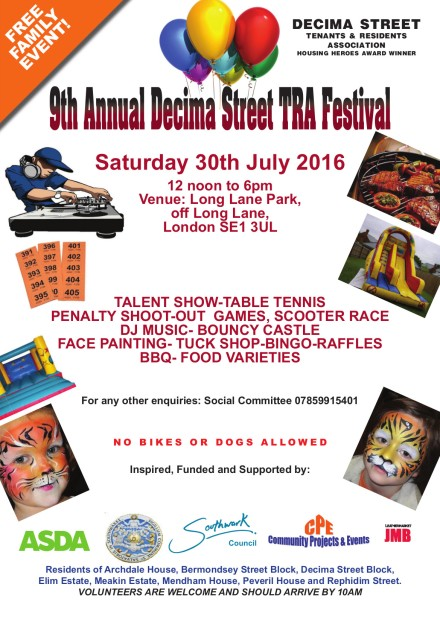 2016 Decima Fun Day Flyer