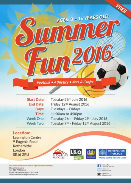 Lewington SummerFun July 2016