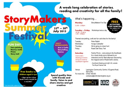StoryMakers Summer Festival  2016