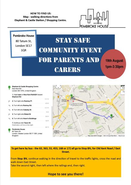 Stay Safe Community Event - Page 2