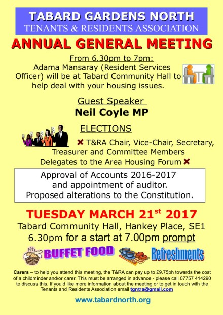 AGM final poster 21st March 2017