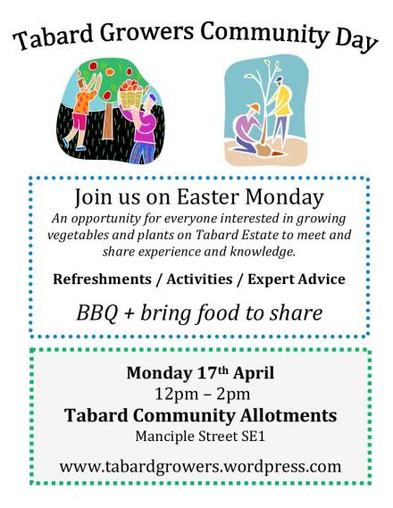 tabard growers community day