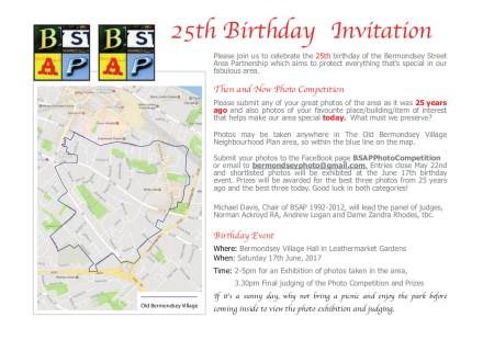 BSAP 25th Flyer