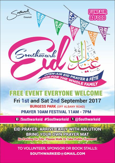 Southwark Eid Festival 2017