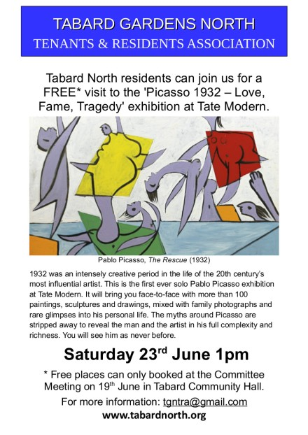 Tate Modern June 2018