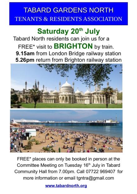 Brighton July 2019