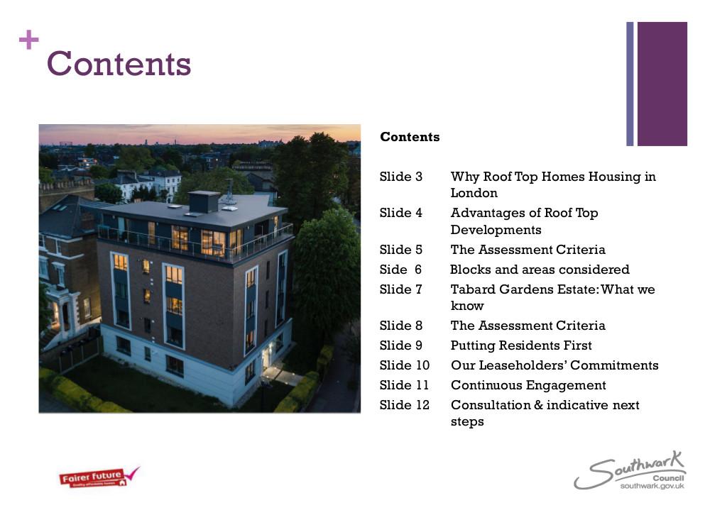 Tabard Gardens Estate RTD TRA Presentation2