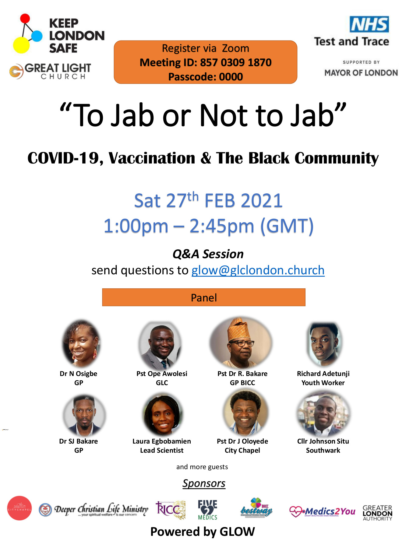 COVAX Black Community Event_