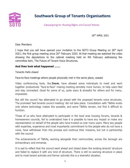 Letter to the SGTO DELEGATES 28TH APRIL 2021-page-001